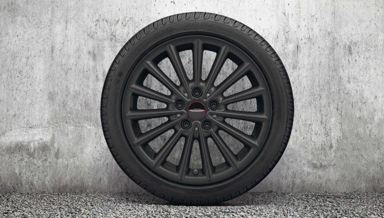 17-дюймовые диски JCW multi spoke – jet black matt – 505