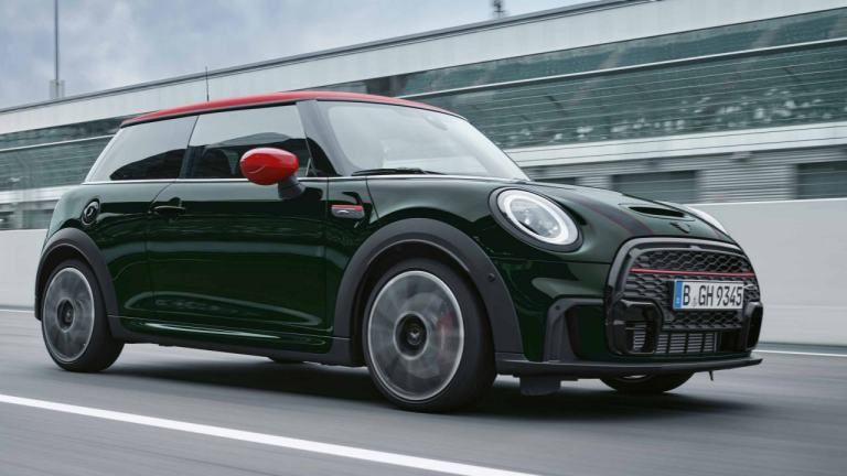 MINI John Cooper Works – green and red – JCW 3-door hatch